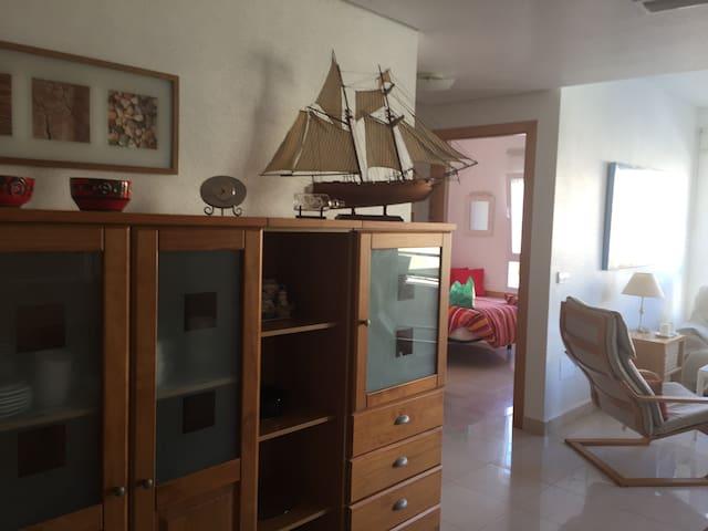 Cabo de Palos.Bonito apartamento junto a la playa