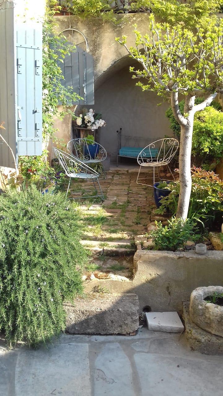 Le charme d'un village du Gard