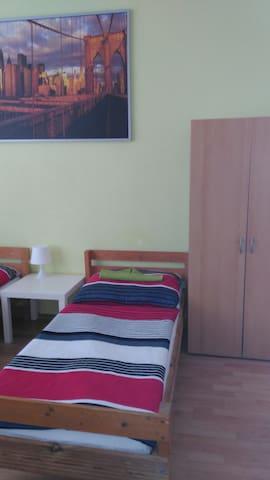 Samostatný hostelovy pokoj pro 4-6osob