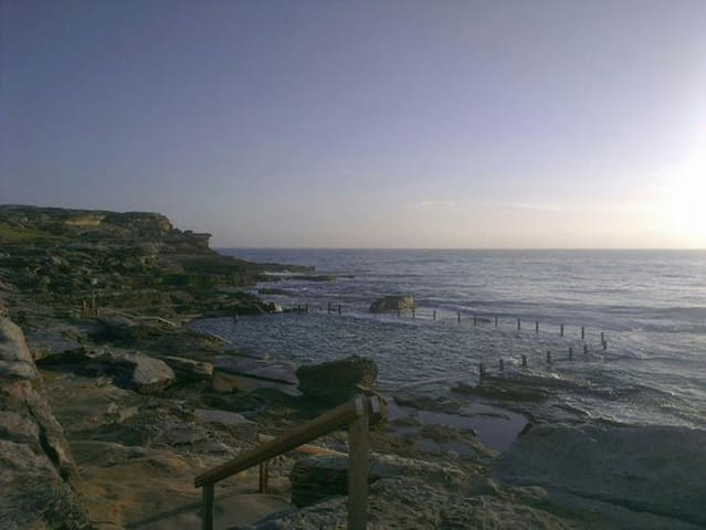 Mahon Pool - Location shot, about 10 minute walk away