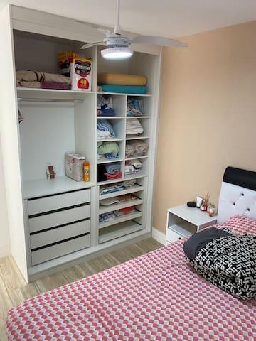 Foto armário do quarto
