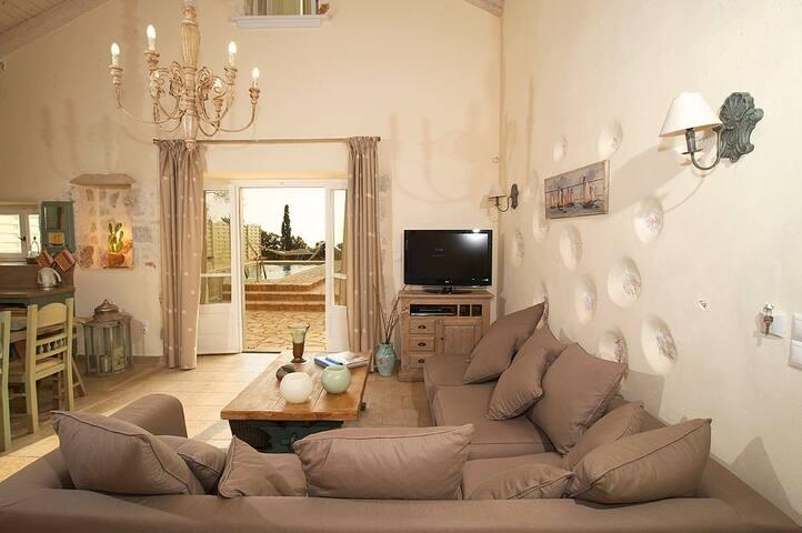 Luxury Restored Stone Villa Gaia - Fiskardo - Vila