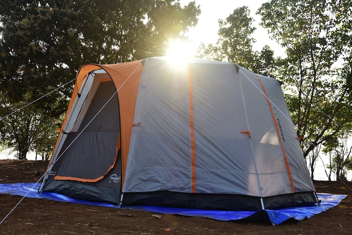 Bombay Camping Co. Luxury Tents at Pawna Lake.