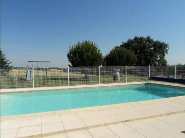 Gîte l'Etable in Gascogne - Pool