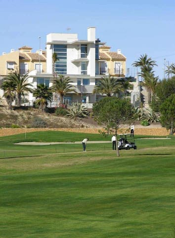 Apartment for 2-4 people in a golf course
