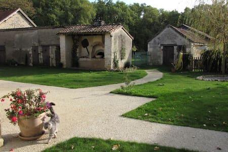 Les Tortues, maison dans campagne poitevine, 3 * - La Bussière - 独立屋