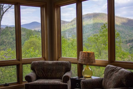 Privacy on a Mountaintop - Blairsville - Haus
