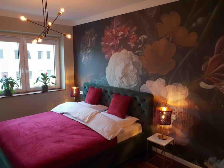 Geschmackvolles Appartement mitten in Düsseldorf