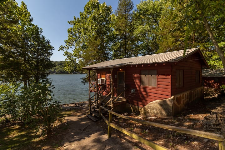 Lakefront Cabin #1 at Fisherwaters Resort