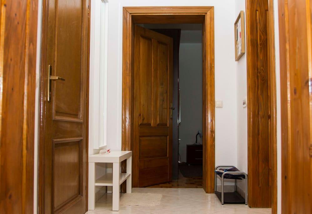 hodnoj u apartmanu