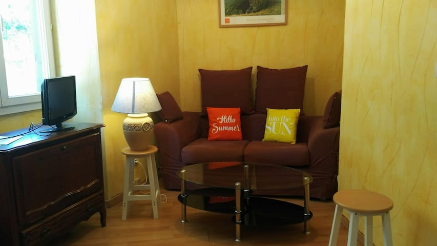 Gite meublé F3 en rez-de-chaussée de maison