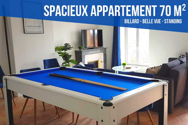APPARTEMENT MERMOZ ★ BELLE VUE ★ BILLARD