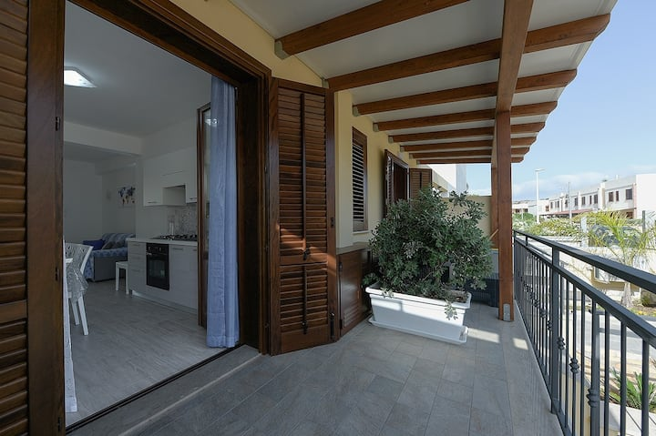 I Tre Golfi Nilo Bianco Apartment on ground floor and basement