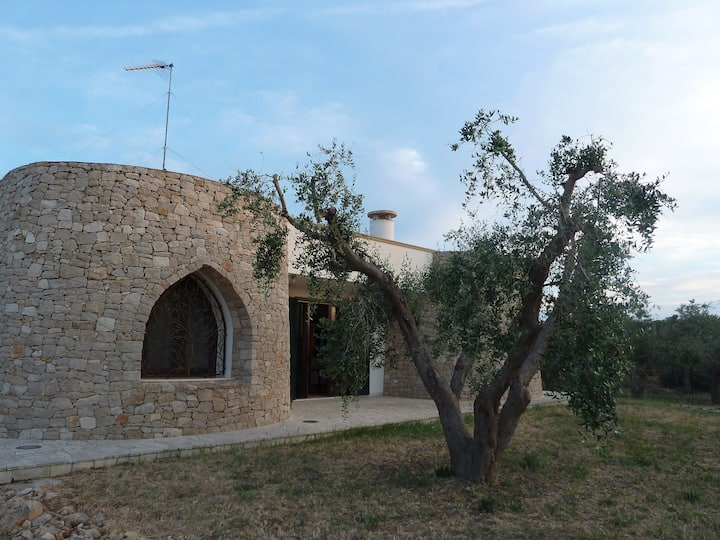 Stonemade villa close by Gallipoli and the seaside