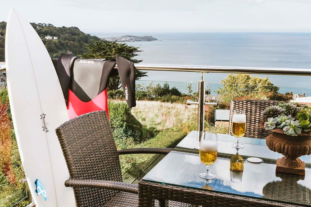 Amazing views from your private balcony perfect for al' fresco dining