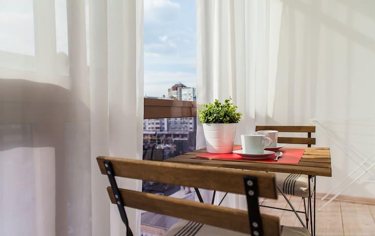 Апартаменты СТОКГОЛЬМ на Цюрупы, 44/2 (#1) - Уфа - Apartment