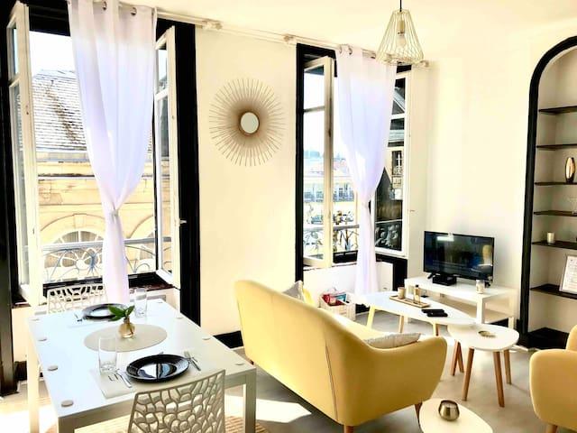 Appartement Cosy avec vue sur Thermes & Casino