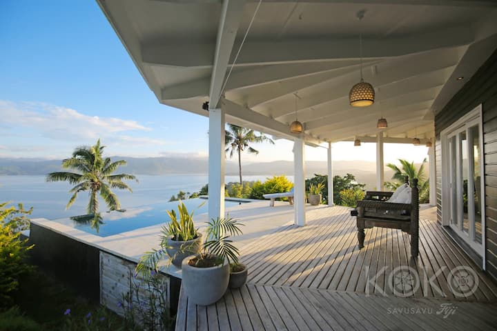 KOKO Savusavu 270° Ocean View Pool Honeymoon Villa