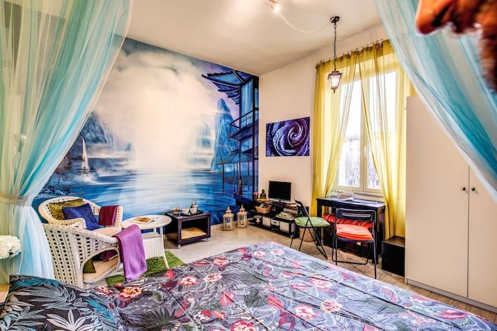 Studio apartment Trastevere