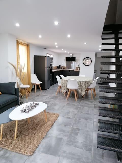 La maison conviviale à Saint-chinian