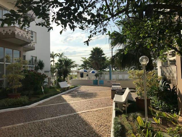 Apartamento em frente ao mar em Caraguatatuba