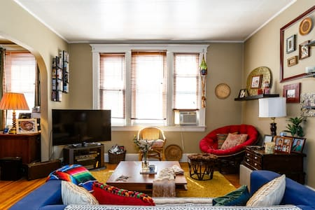 Delightful, Cozy Private Room. 10 Min ride to NYC - Weehawken