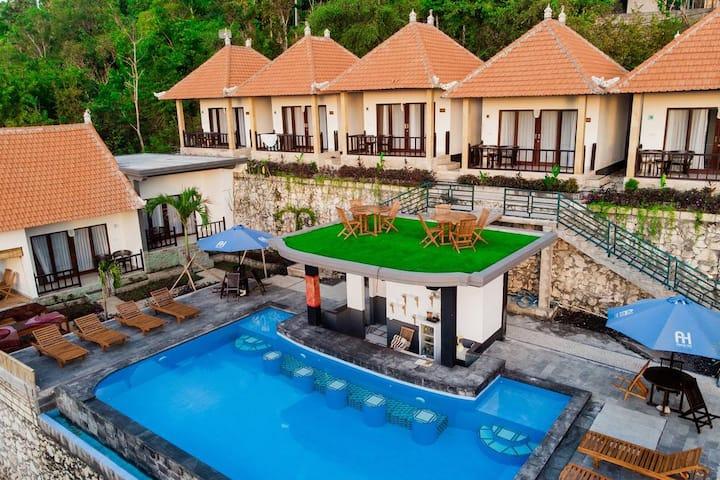 Nusa Penida Hill 6 Adult ABasan Pool Breakfast