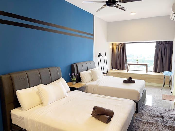 Imperio FreeWiFi&SmartTV 4 Pax in Melaka Town Area