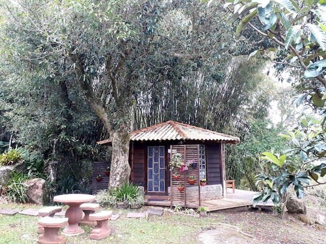 Pequeno Bangalô Vista ESPETACULAR