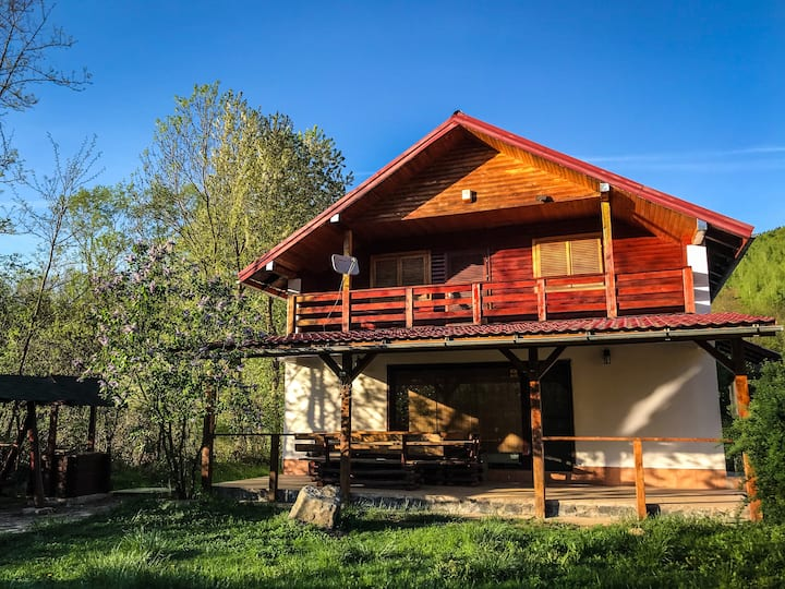 Chalet in the middle of the nature, Muntele Mic