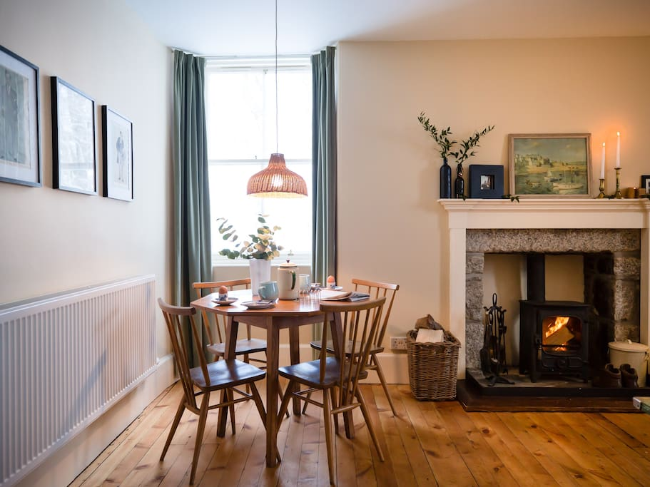 Dining in style with beautiful vintage Ercol furniture