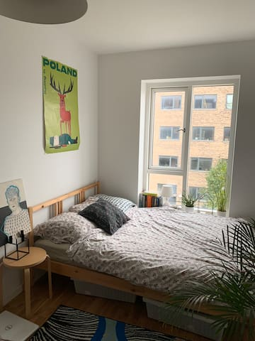 Spacious double room in Copenhagen SV by the sea