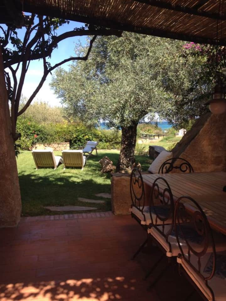 La villa in Sardegna
