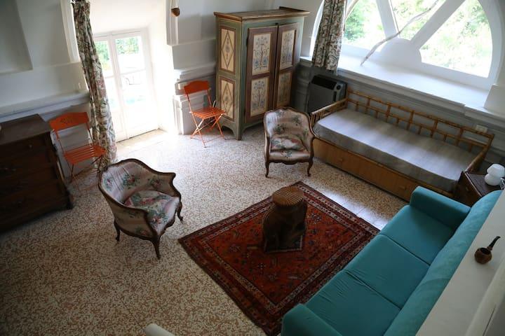 Bilocale in villa nel cuore della collina torinese - Arignano - Apartament