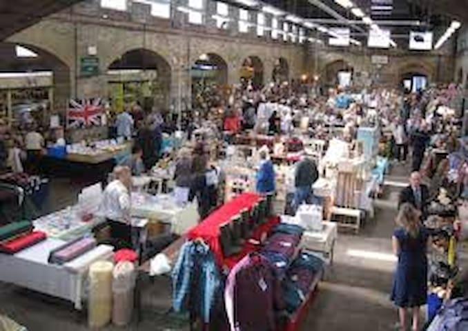 Tavistocks bustling Pannier Market