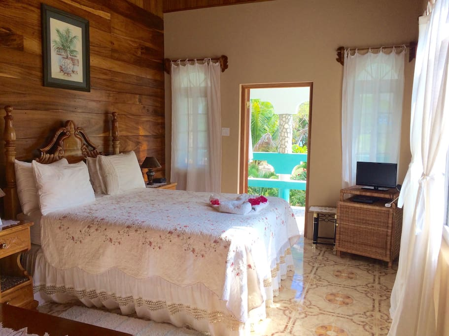 The Orchid Room is one of our 2nd floor rooms, and all the furniture is hand-crafted by local artisans.