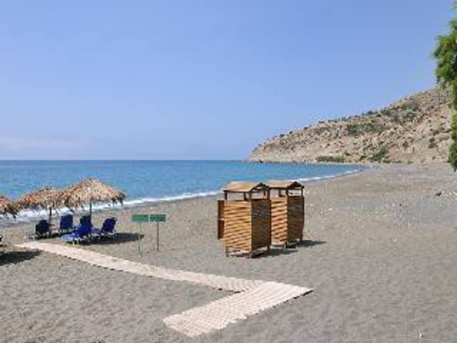 Beach in Myrtos