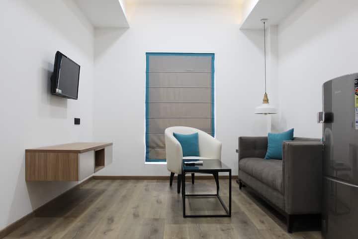 Two bedroom studio apartment,Jubilee Hills,Road#44