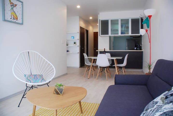 ★ Cozy flat ★ Condesa *with parking*