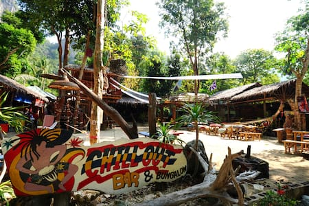 Chillout Bar/Bungalow (12), Tonsai beach - Aonang - Hut