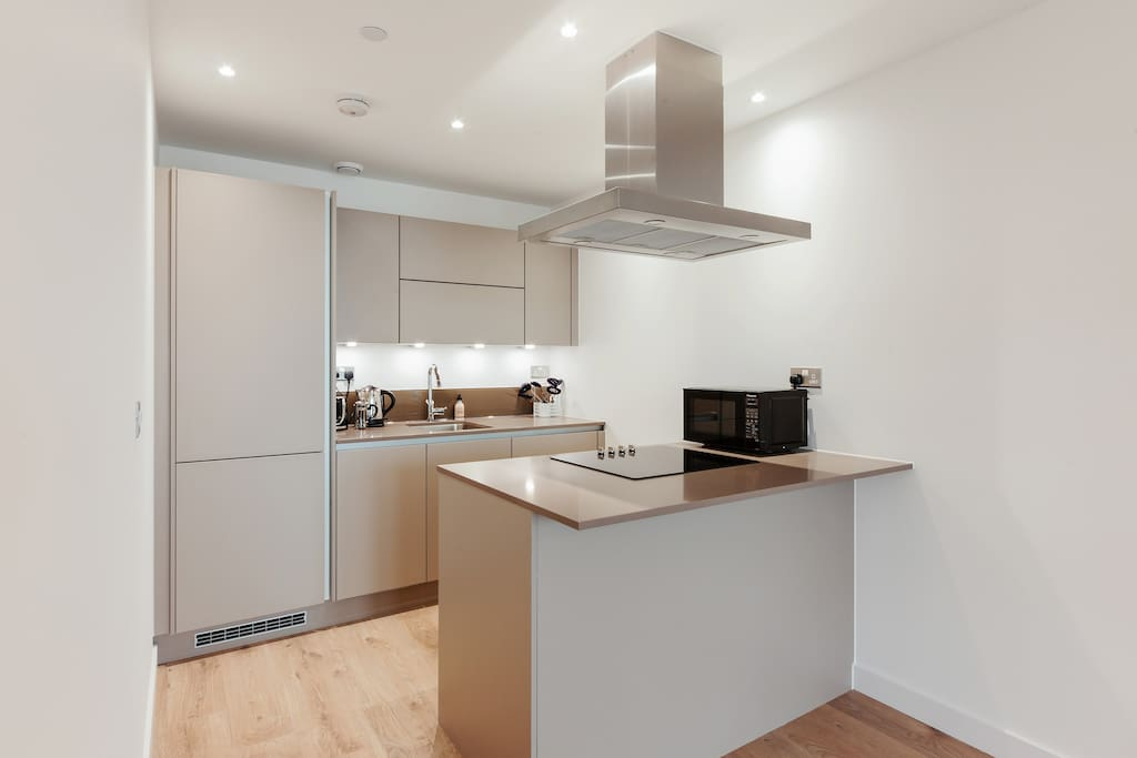 My property has everything you need; a sleek, open-plan kitchen...