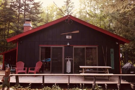 Cozy ADK camp with Indian Lake access