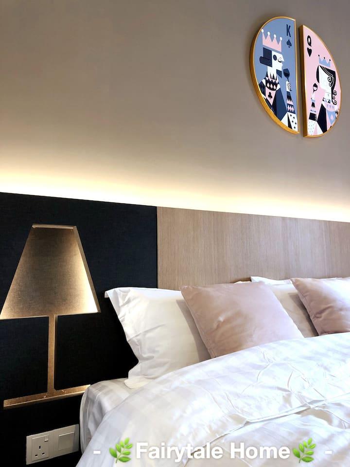 Genting-Fairytale Nordic Soho Room(2-4Pax)北欧书豪房/中文