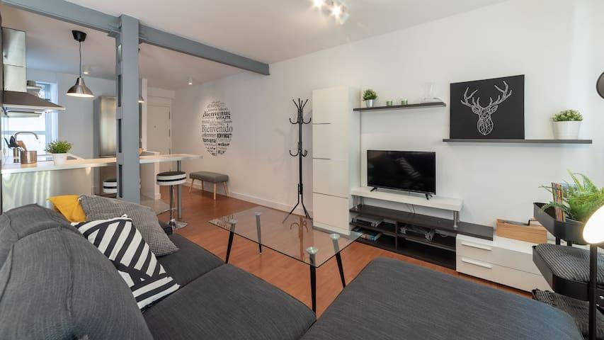 Moderno y tranquilo piso en pleno centro Huelva II