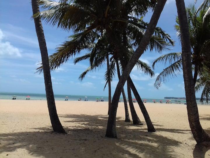 O Paraíso é aqui, Praia do Cabo Branco.
