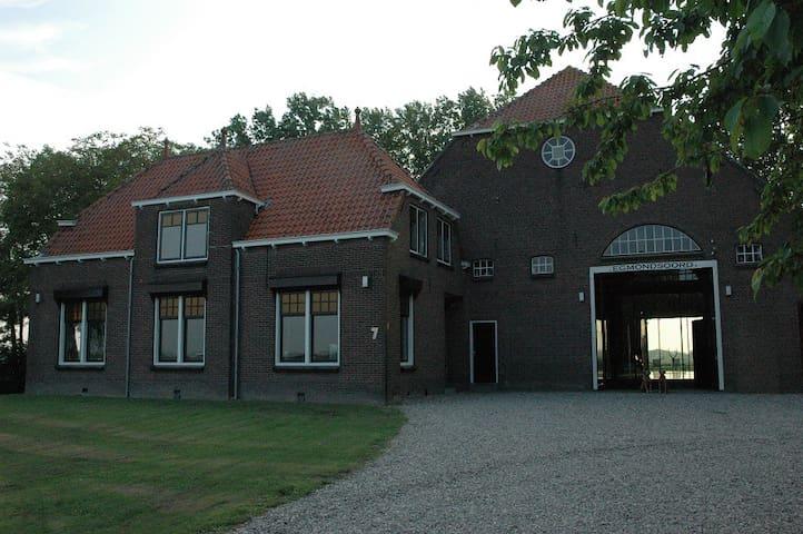 Egmondsoord: luxe en ruim gastenverblijf - Zuid-Beijerland - House