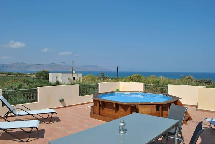 Villa Lukas - Olive Tree Farm 200m from the beach