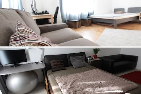 Comfortable cozy apartment close to Prague castle - Praha - Huoneisto