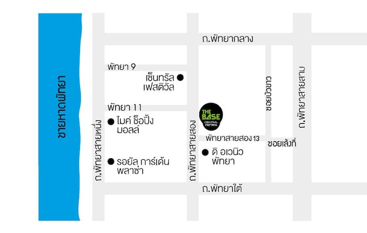 """""""The Base"""" Location Map for the Taxi Driver"""