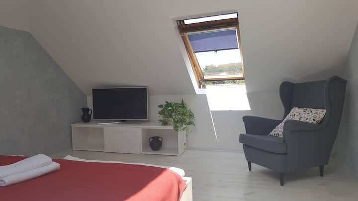 "Eva's home - Room ""Sky II."""